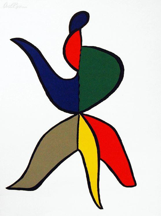 Alexander calder clipart clip art free library Alexander Calder Untitled, Original Lithographic Bookplate - Subject ... clip art free library