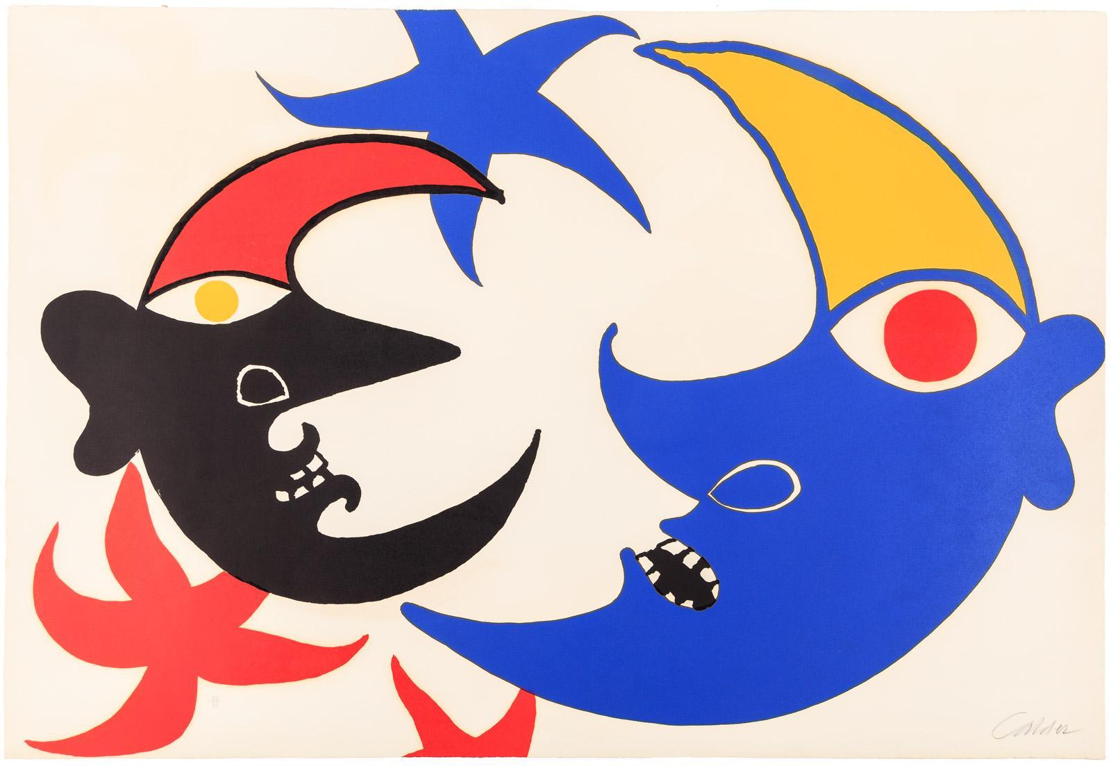 Alexander calder clipart graphic free Alexander Calder - Two Moons (Les Deux Lunes) - Modernist Icon ... graphic free