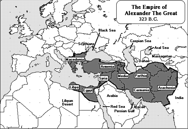 Alexander empire clipart png download Alexander the Great Empire 323 BC - /world_history/maps ... png download