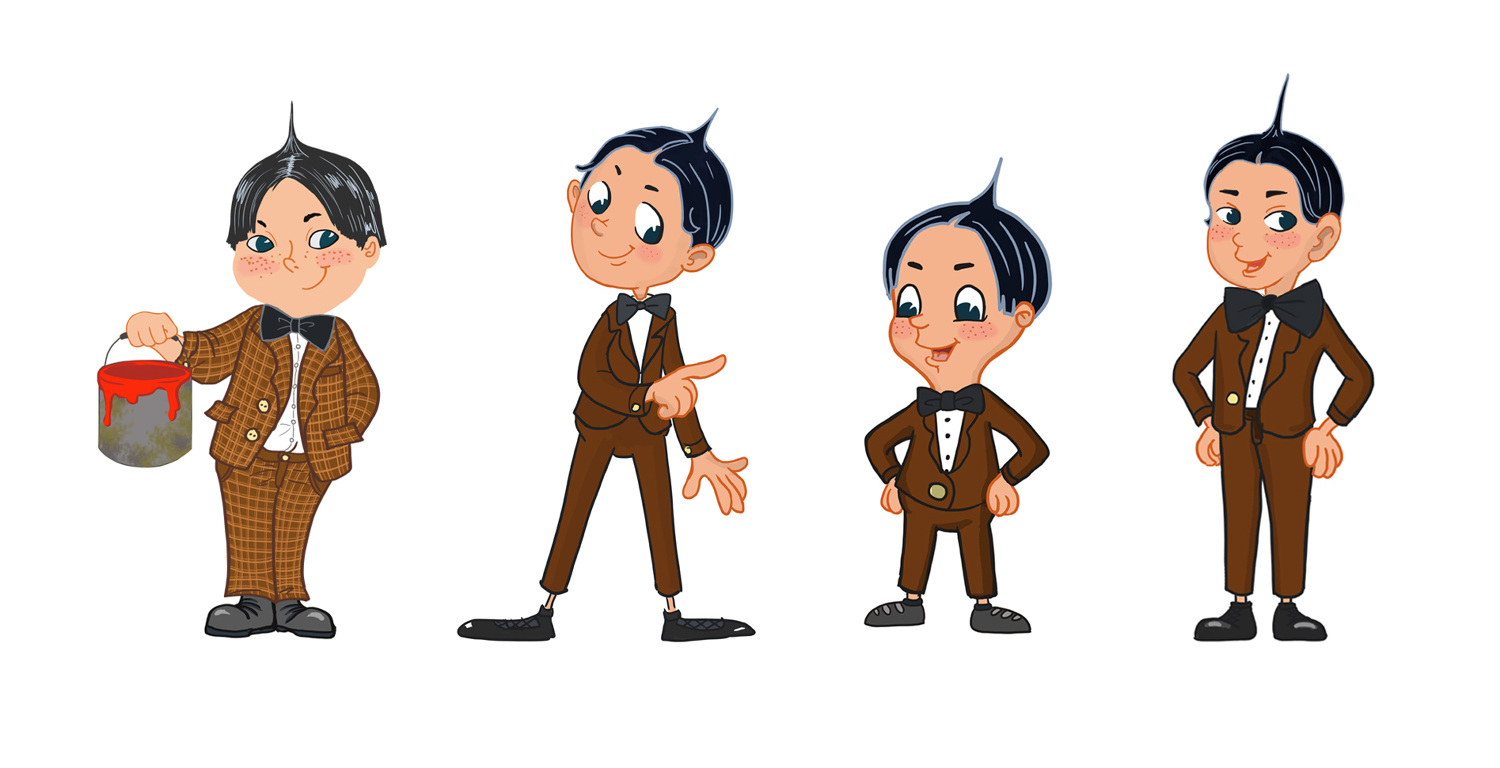 Alfalfa hair clipart banner library download Little Rascals - ejkang.tv - Personal network banner library download