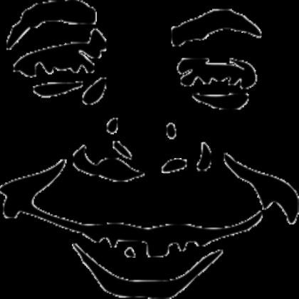 Alfred e neuman clipart jpg royalty free Alfred E Neuman Face - Roblox jpg royalty free