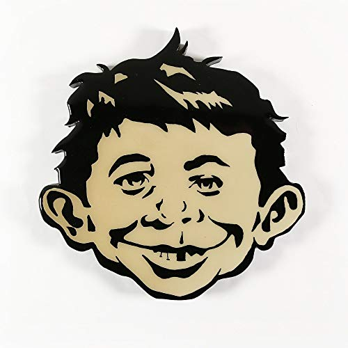 Alfred e neuman clipart clip freeuse download Amazon.com: Alfred E. Neuman Cut Out Wall Mount: Handmade clip freeuse download