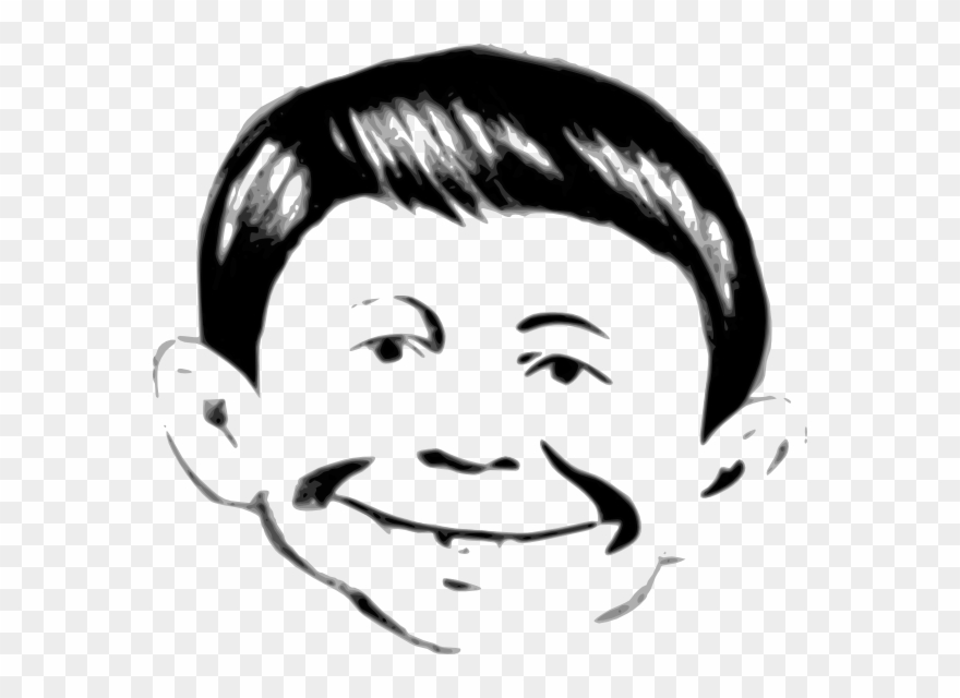 Alfred e neuman clipart clip library library Alfred E Neuman Clipart - Png Download - Clipart Png Download ... clip library library