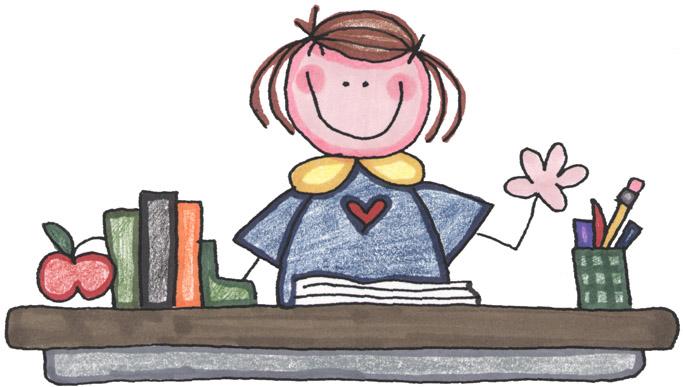 Teacher planning day clipart