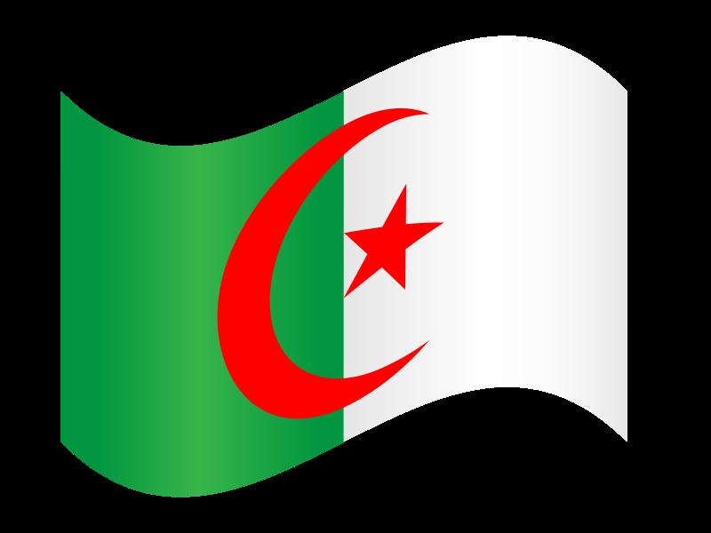 Drapeau algerie clipart jpg transparent download Free Clipart: Algeria flag 2 | Algerian jpg transparent download