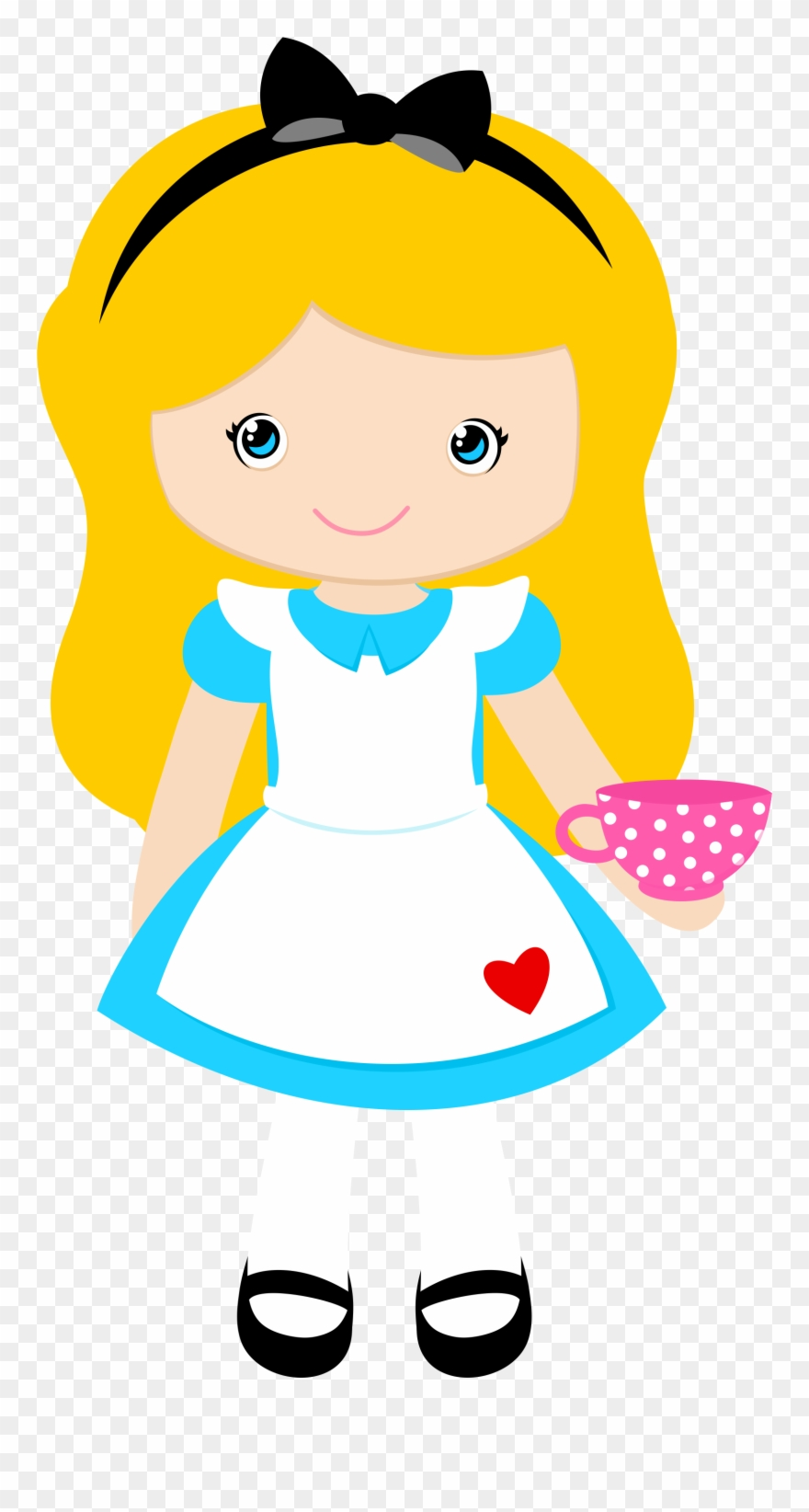 Alice dress clipart svg free Alice In Wonderland Clipart, Alice In Wonderland Party, - Alice In ... svg free