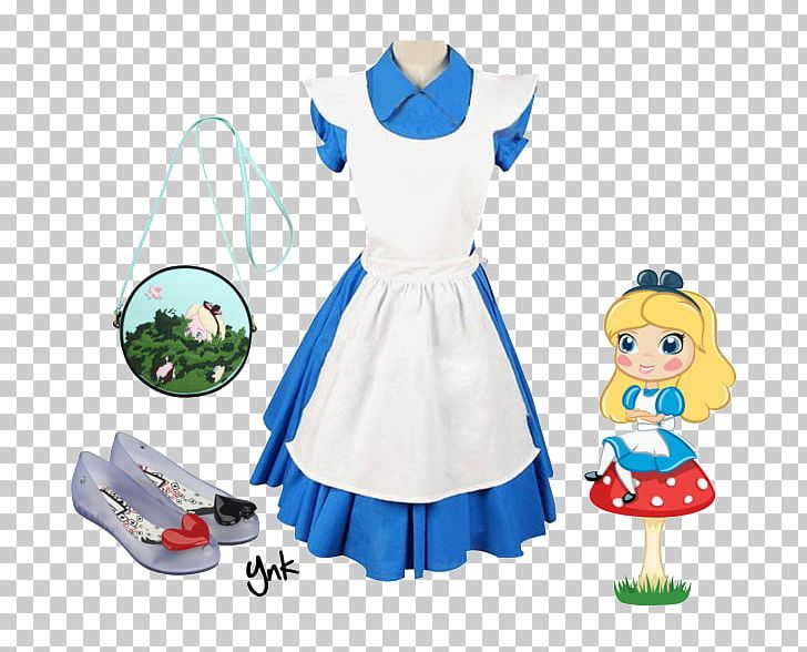 Alice dress clipart clip free library Costume Blue Cosplay Alice In Wonderland Dress PNG, Clipart, Alice ... clip free library