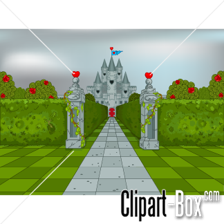Alice in wonderland castle clipart png freeuse download CLIPART QUEEN OF HEART CASTLE | Alice in Wonderland in 2019 | Queen ... png freeuse download
