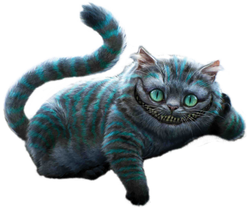 Alice in wonderland cheshire cat clipart clip art transparent Cheshire Cat PNG Photos | PNG Mart clip art transparent