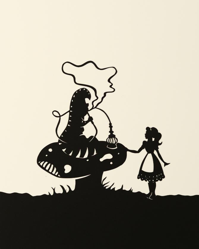 Alice in wonderland clipart cattipilar black and white image freeuse download Download alice in wonderland caterpillar silhouette clipart ... image freeuse download