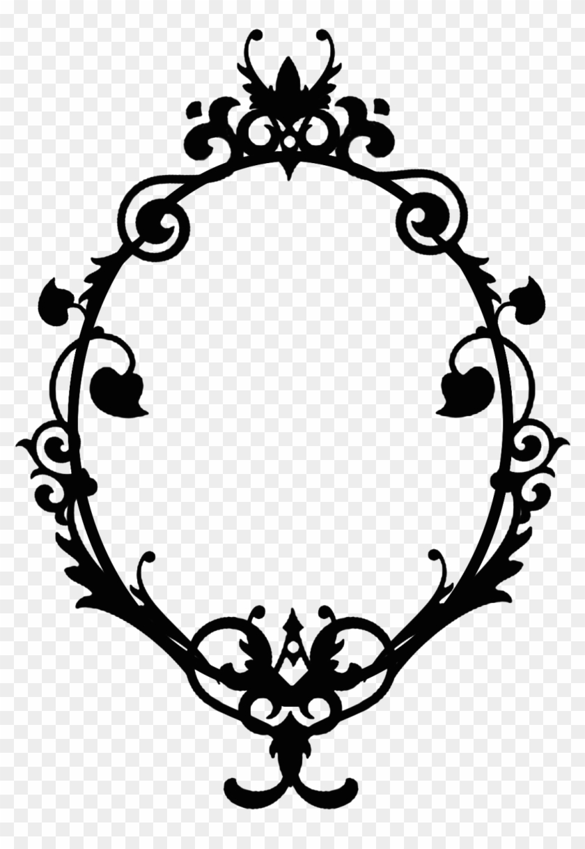 Skull frame clipart png royalty free download Skull Frame Cliparts - Disney Alice In Wonderland Silhouette, HD Png ... png royalty free download