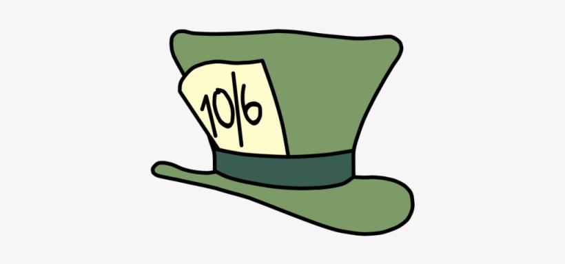 Alice in wonderland hat clipart clip Alice In Wonderland Clipart Top Hat - Mad Hatter Cartoon Hat - Free ... clip