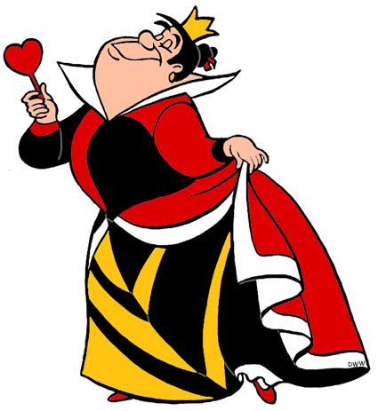 Alice in wonderland queen of hearts clip art vector free stock King and Queen of Hearts Clip Art Images | Disney Clip Art Galore vector free stock