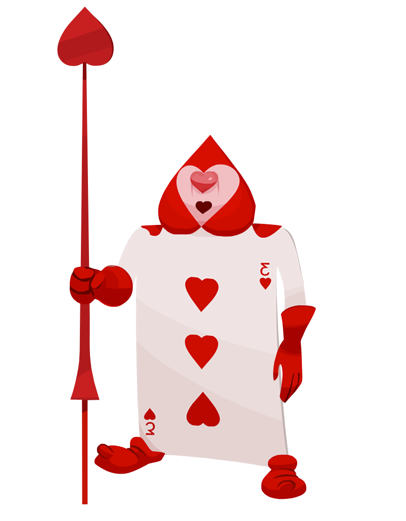 Alice in wonderland queens crown clipart jpg library stock queen of hearts soldier card - Google Search | Punch Art | Pinterest ... jpg library stock