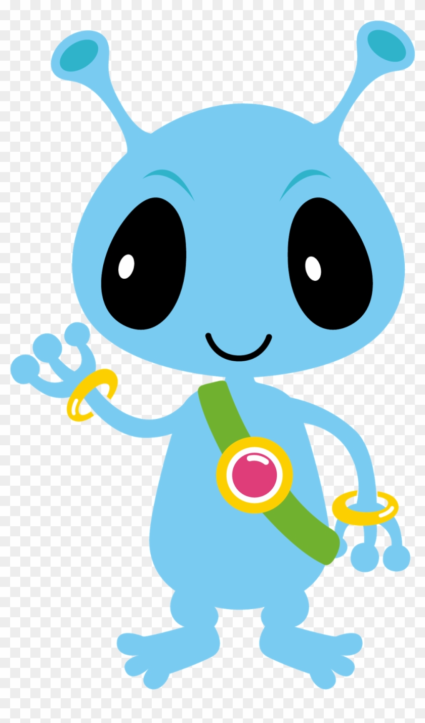 Alien clipart hair graphic download Monster Clipart Cute Alien Spaceship - Blue Alien Clip Art, HD Png ... graphic download