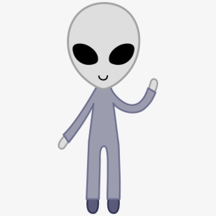 Alien clipart hair graphic black and white stock Free Alien Clipart Cliparts, Silhouettes, Cartoons Free Download ... graphic black and white stock