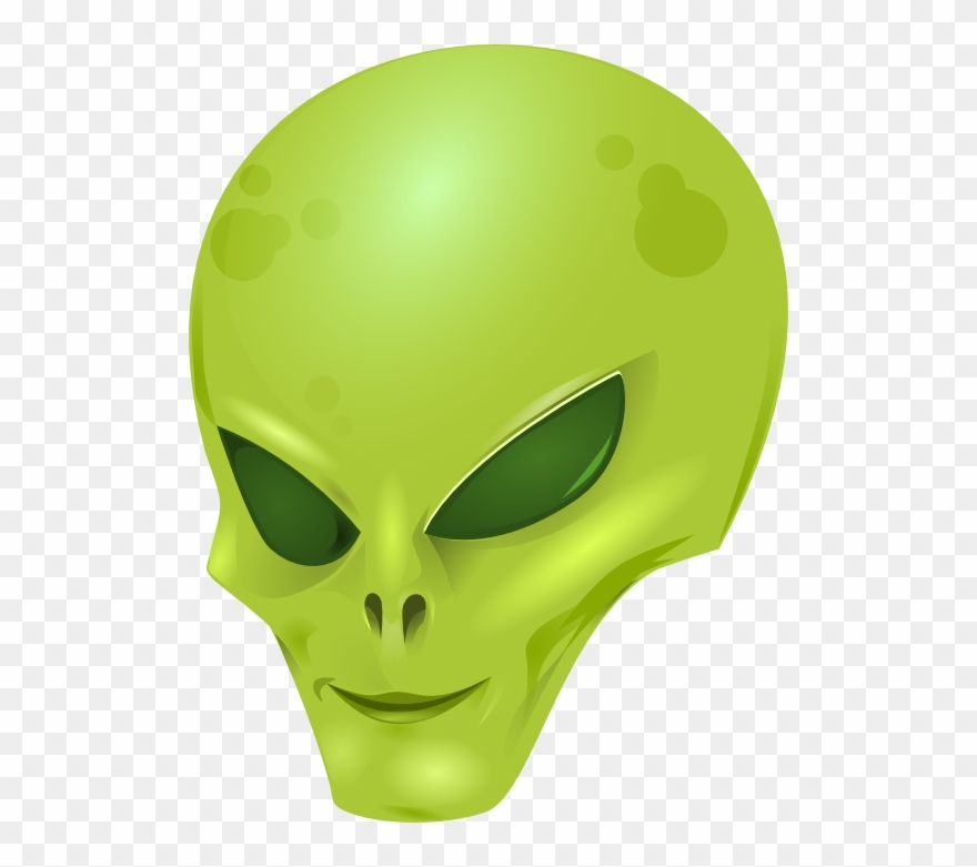 Alien head clipart free transparent clipart black and white download Eye Clipart Alien - Transparent Background Alien Cartoon - Png ... clipart black and white download