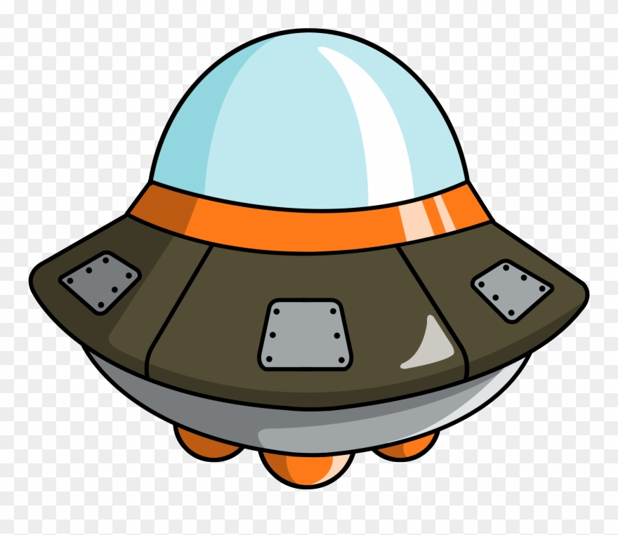 Flying saucer clipart free. To use public domain