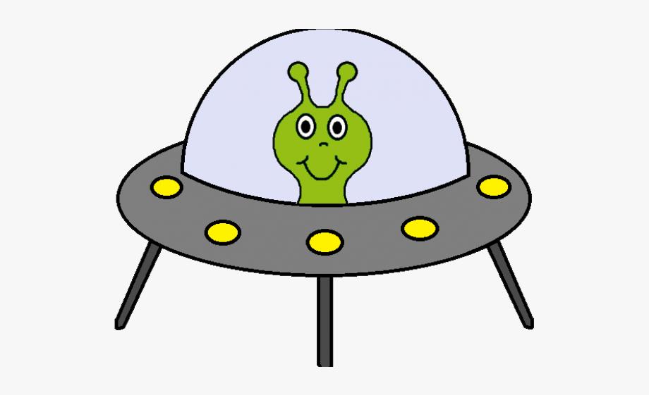 Alien spaceship clipart
