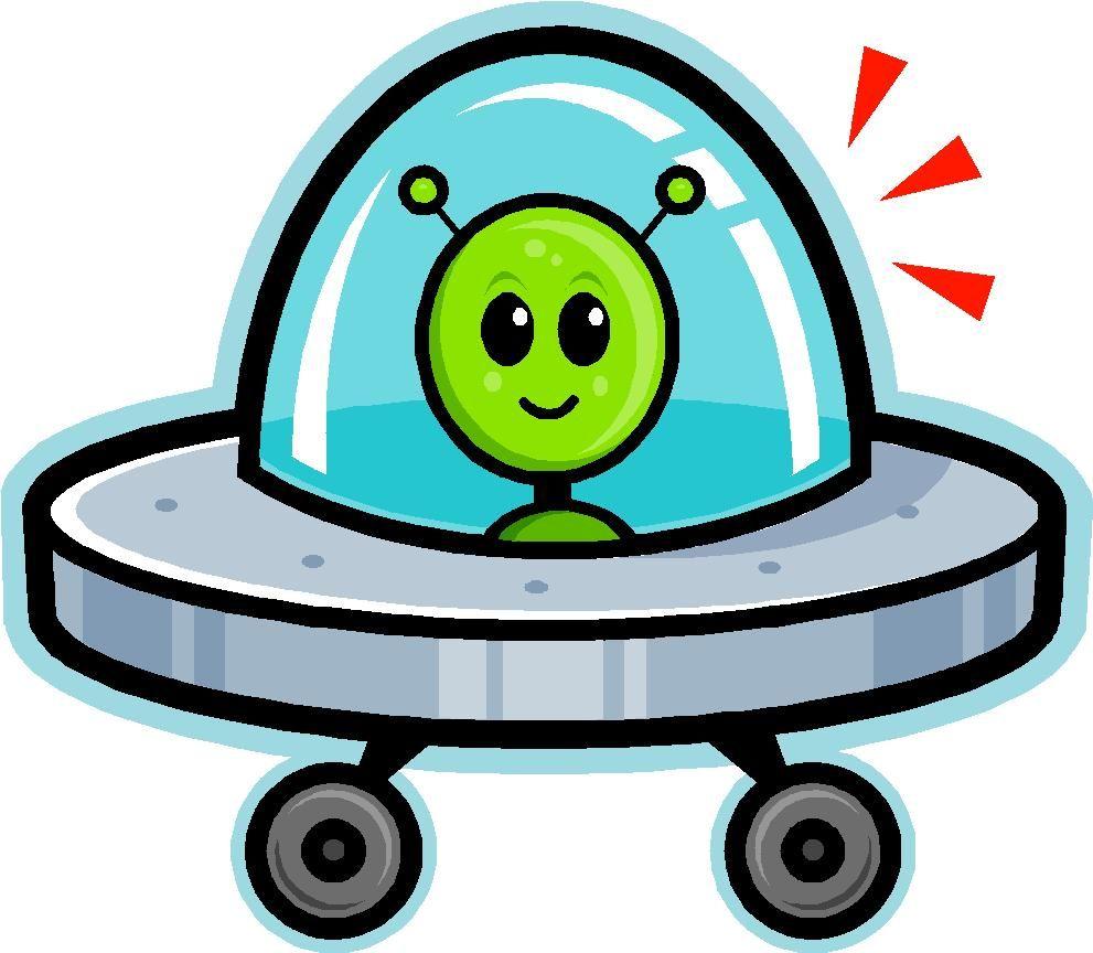 Cartoon spaceship clipart jpg transparent library Cartoon Spaceship | Cartoon image of a green martian in a spaceship ... jpg transparent library