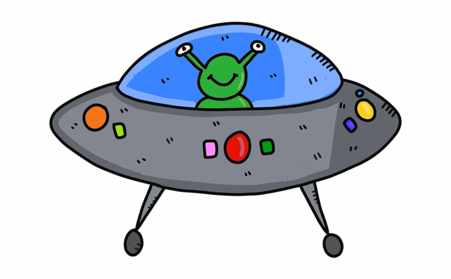 Image of a sdpaceship of the future clipart vector library library Alien Spaceship Ufo Future Fantasy Futuristic - Cartoon Free PNG ... vector library library