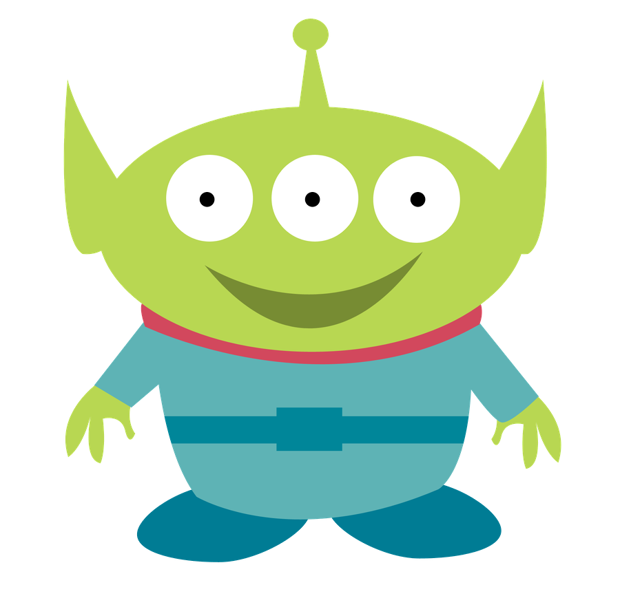 Alien with book clipart png freeuse stock Toy Story Kids Clip Art. | Oh My Baby! | Cartoon Silhouettes ... png freeuse stock