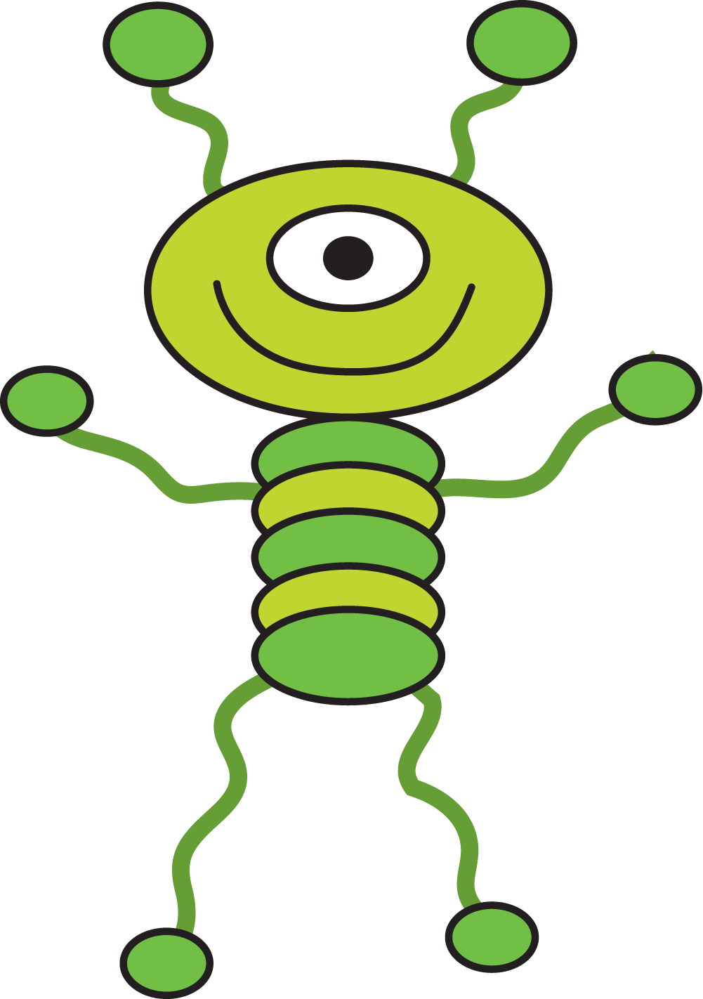 Alien with book clipart png free Funny Alien Clipart at GetDrawings.com | Free for personal use Funny ... png free