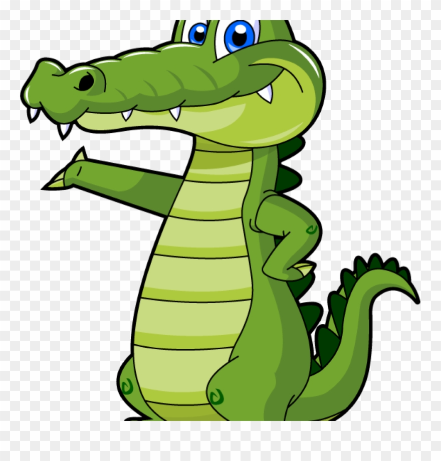 Alligator clips clipart