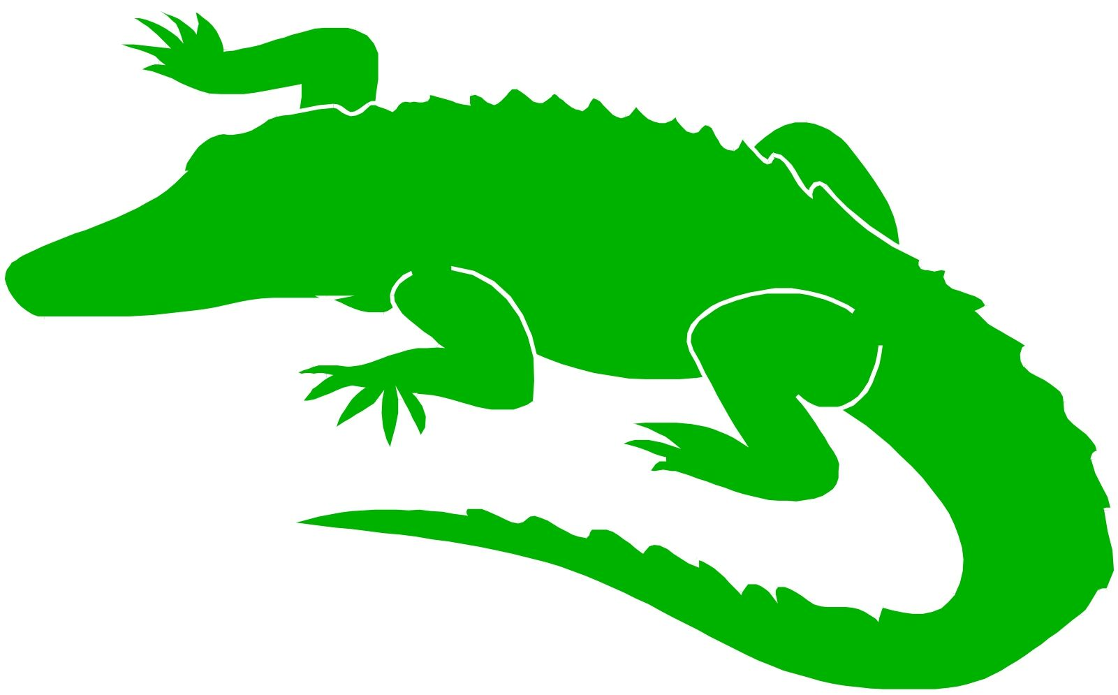 Alligator clipart winter png library Crocodile alligator clip art free clipart clipart clipartcow | My ... png library