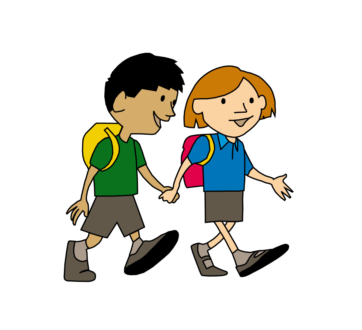 Alking to school clipart jpg transparent stock walk-to-school-clipart-8 - Woodborough Primary School jpg transparent stock