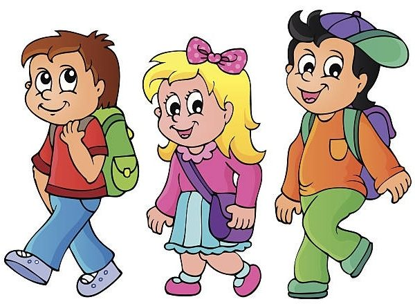 Alking to school clipart graphic transparent library Kids walking to school clipart 1 » Clipart Station graphic transparent library