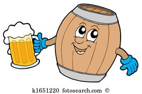 Alkohol trinken clipart. Stock illustration und eps