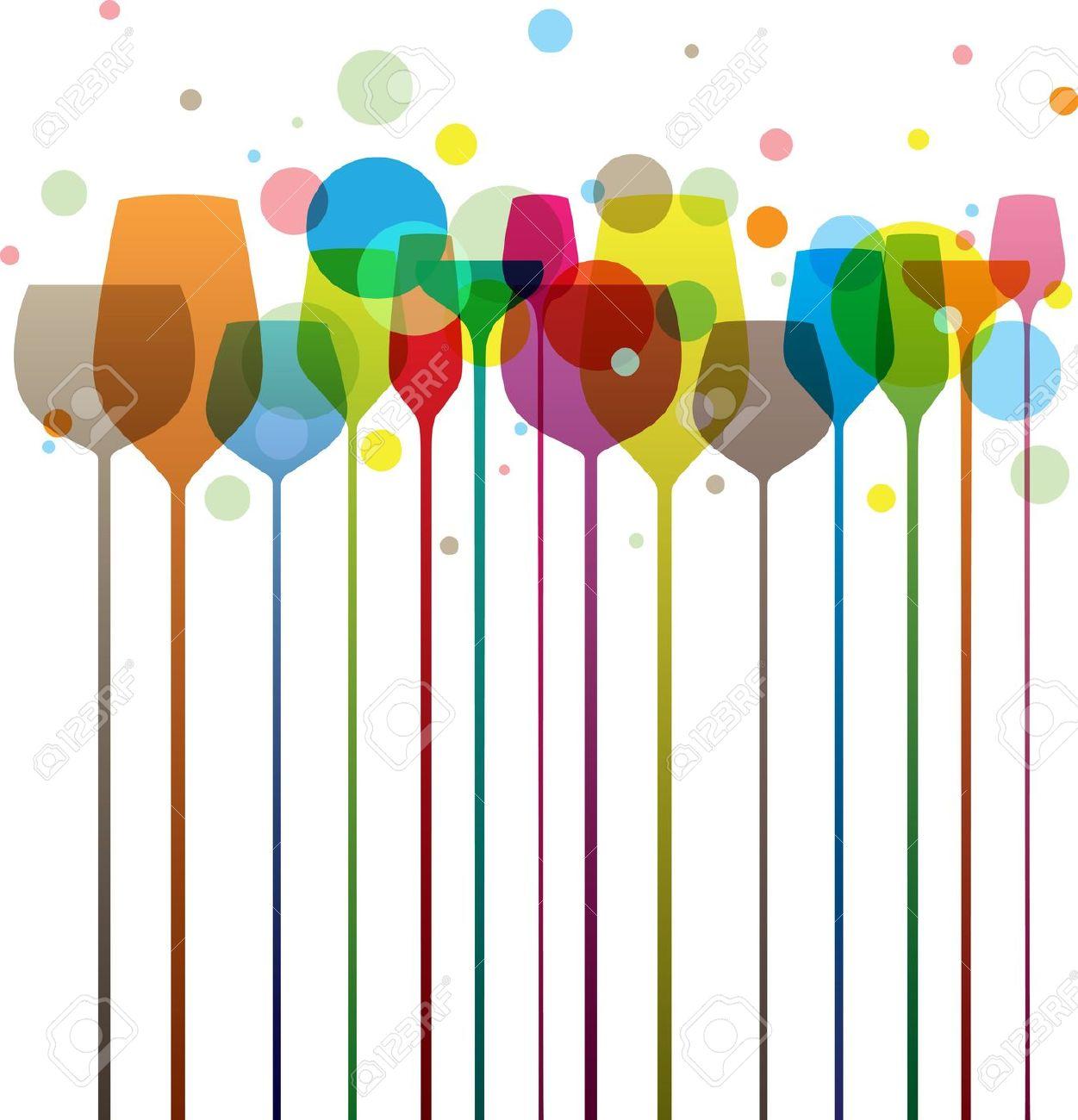 Alkohol trinken clipart jpg royalty free library Bunte Alkohol Trinken Gläser, Perfekt Für Ihre Partei Und F- & -B ... jpg royalty free library
