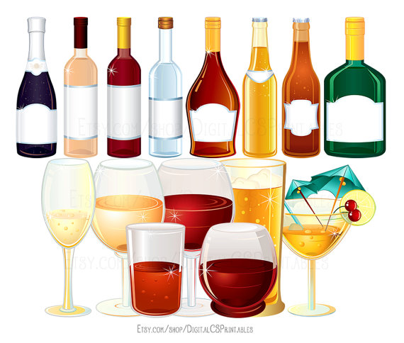 Alkohol trinken clipart picture black and white download Trinken Sie Clipart Wein Clipart Alkohol Clipart Flasche picture black and white download
