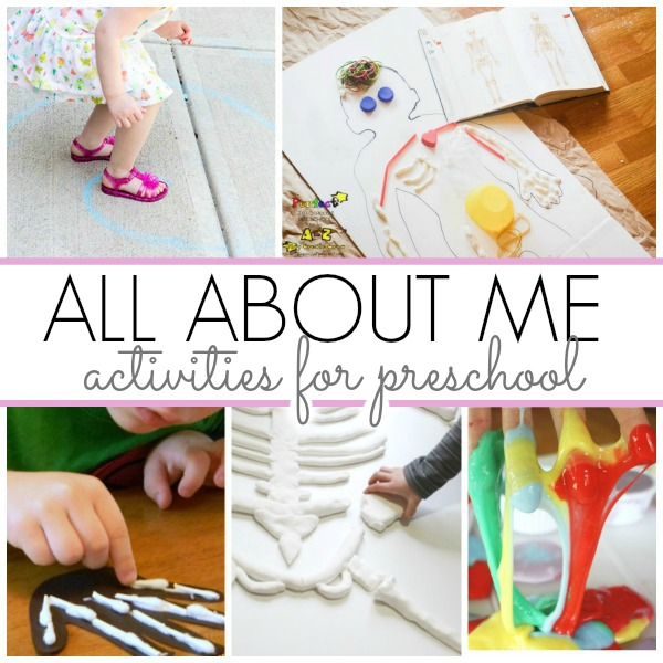 All about me clipart preschool banner library library Activities for All About Me Theme - Pre-K Pages banner library library