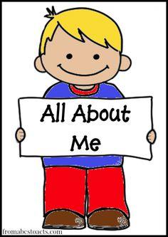 All about me clipart preschool image free carmen rivero (carmenprivero) on Pinterest image free