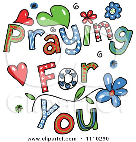 Prayer clipart free clipart black and white stock Praying for you pictures | Clipart Colorful Sketched Praying For You ... clipart black and white stock