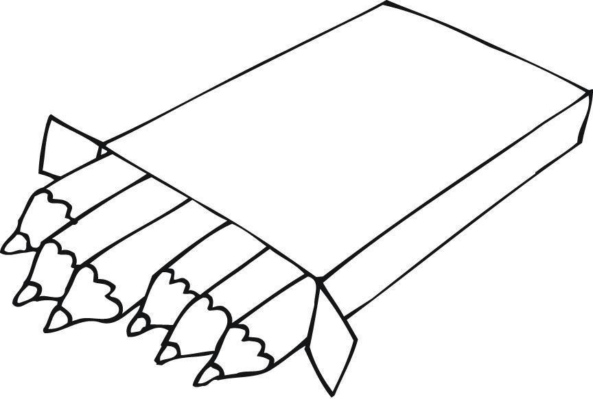 Color vs black and white clipart clip freeuse stock Colored Pencils Clipart Black And White – Clipartxtras throughout ... clip freeuse stock