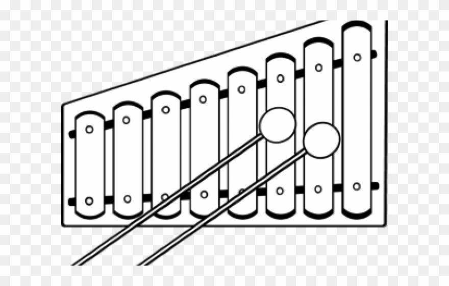 Xylophone black and white clipart jpg free Xylophone Clipart Black And White - Colors And Shapes Preschool ... jpg free