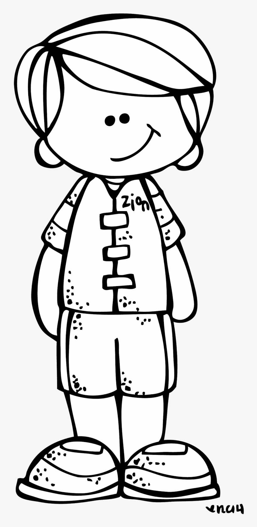 Black and white clipart won png black and white stock Boy Black And White Clip Art - Boy Melonheadz Clipart Black And ... png black and white stock