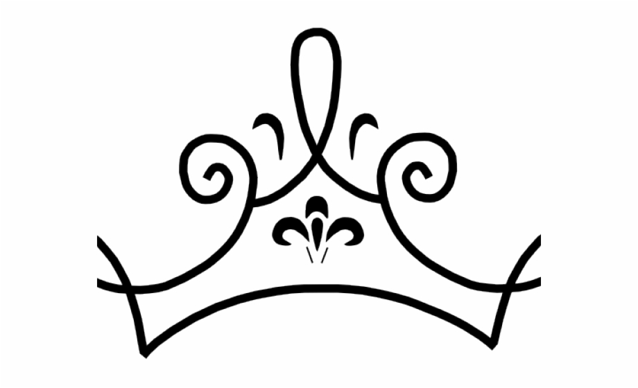 Weekend clipart black and white png library download Princess Crown Clipart Black And White - Queen Crown Clipart Black ... png library download