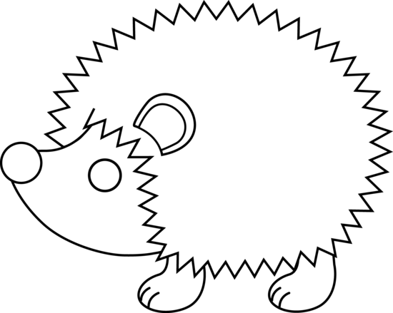 All black clipart hedgehog image freeuse library Best Hedgehog Clipart #18755 - Clipartion.com image freeuse library