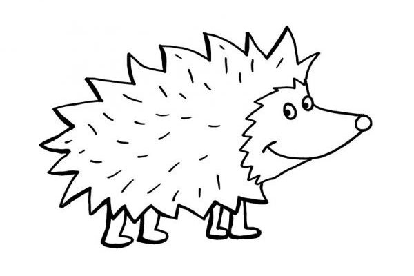 All black clipart hedgehog picture black and white stock Hedgehogs - Sustainable Living in the Heatons picture black and white stock