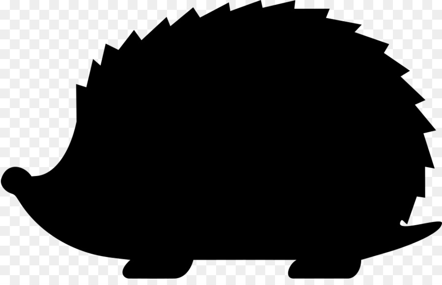 All black clipart hedgehog graphic freeuse library Background Baby png download - 1000*630 - Free Transparent Hedgehog ... graphic freeuse library
