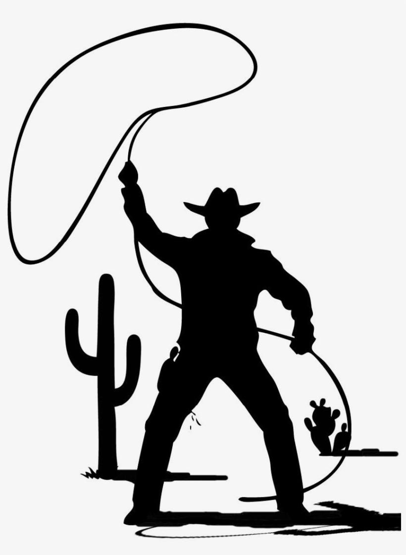 Silhouette cowboy clipart clip art transparent Cowboy Silhouette Png - Cowboy Clip Art Black And White - Free ... clip art transparent