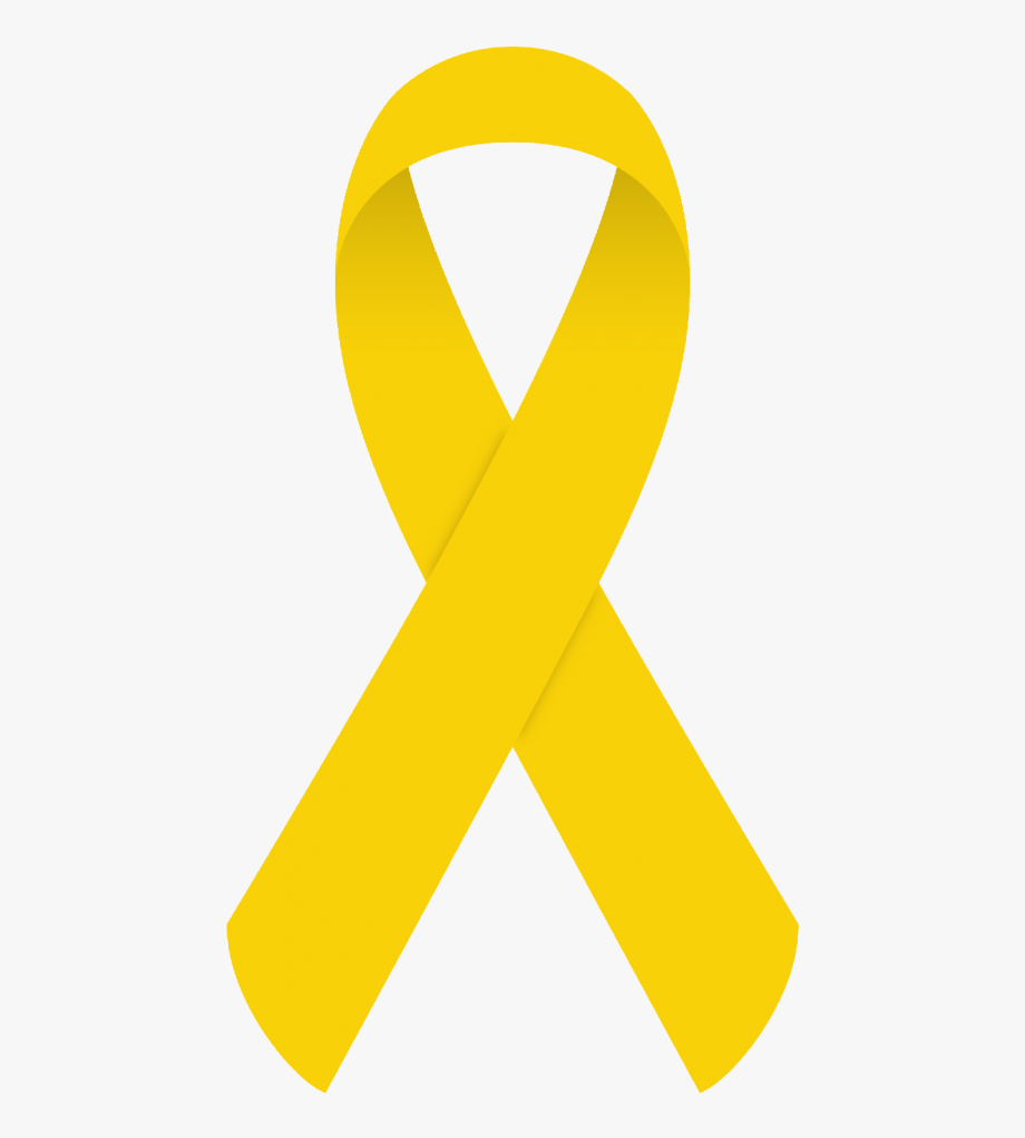 All cancer awareness ribbon clipart picture black and white September Is Childhood Cancer Awareness Month - Childhood Cancer ... picture black and white