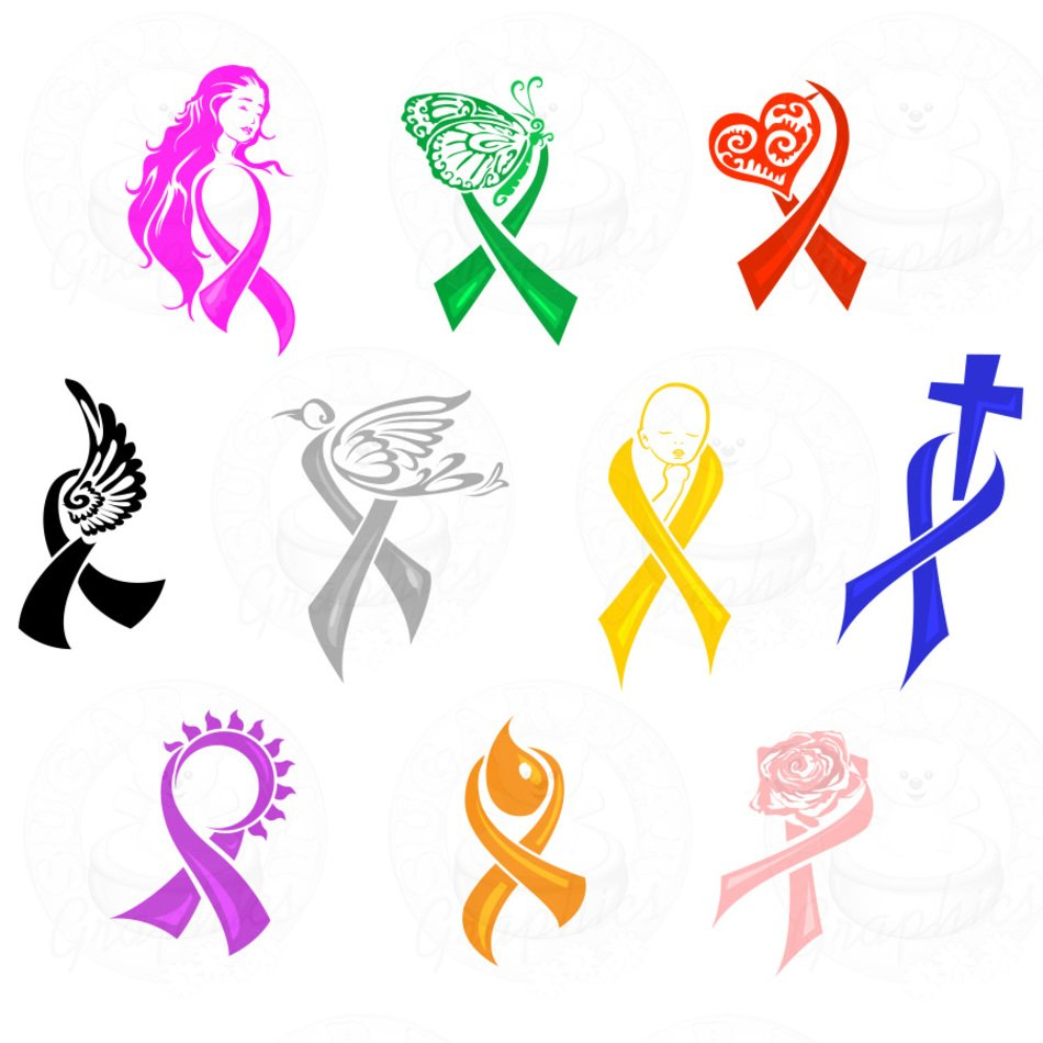 All cancer awareness ribbon clipart png transparent Cancer Awareness Ribbon Clip Art N2 free image png transparent