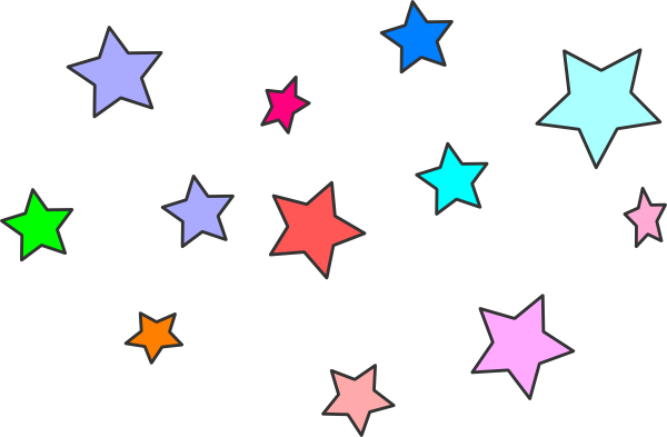 Bunch of stars clipart freeuse stock Star Cluster Clip Art at Clker.com - vector clip art online, royalty ... freeuse stock