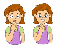 All done clipart sign language
