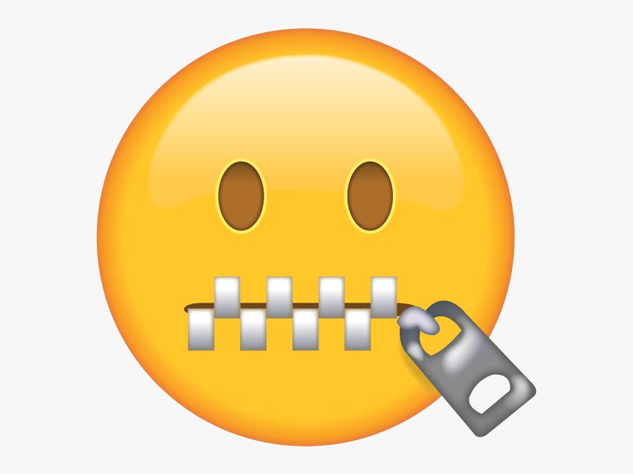 Zipper mouth clipart image png freeuse Download Zipper Face Emoji Island Ai File - Zipper Mouth Emoji ... png freeuse